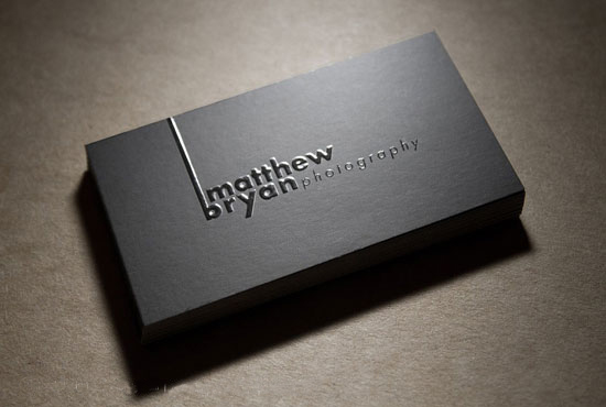Have Your Business Standout With Spot Uv Business Card