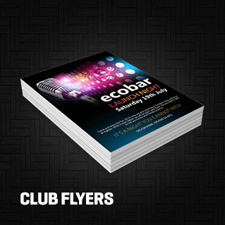 Club Flyers Printing Los Angeles