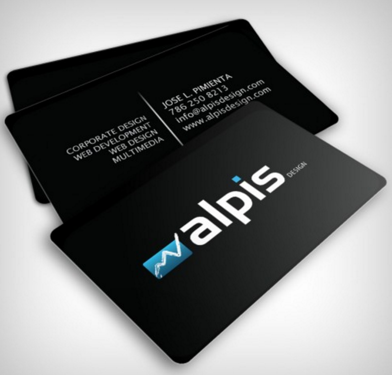 Glossy Business Cards Outshines Every Type Of Business Card