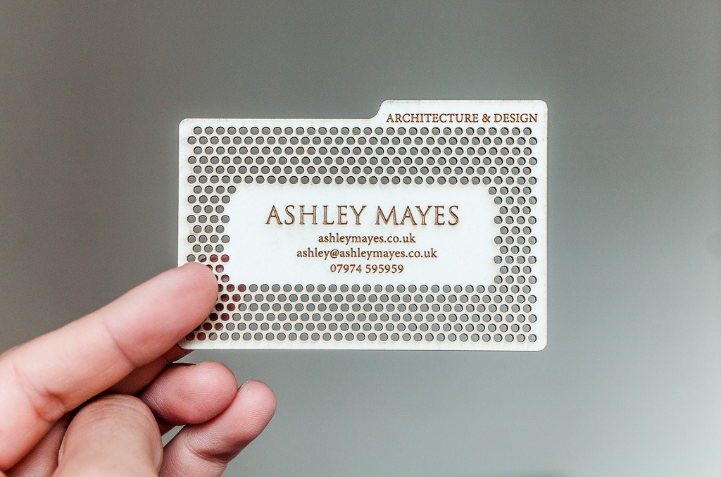 Laser Cutting Business Cards Can Reduce Costs