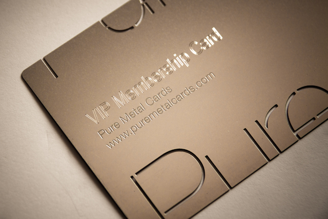 Why Use Metal Business Card Printing For Your Business