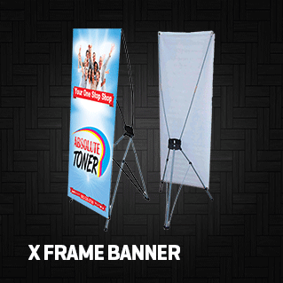 x frame banner printing los angeles