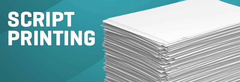 Los Angeles Script Printing