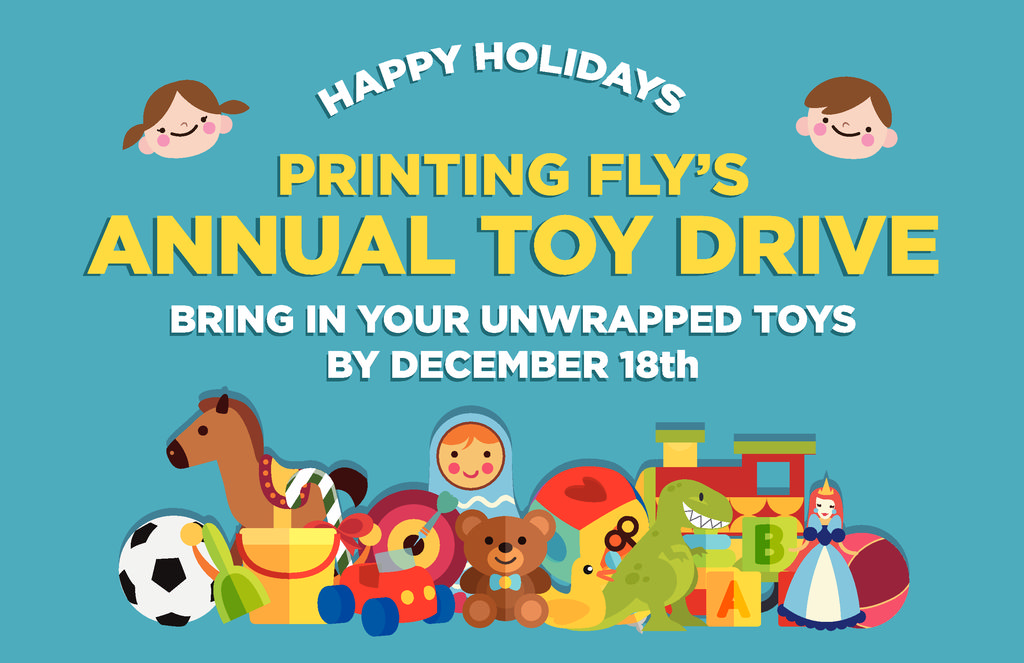 Printing Fly S Toy Drive Collection In Los Angeles